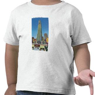 Exterior View of RCA Bldg Rockefeller Center T Shirt