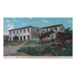 Exterior View of Robert Louis Stevenson Residenc Poster