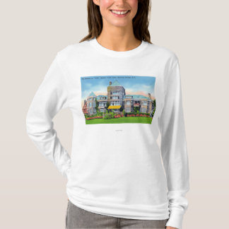 Exterior View of S. Track Estate Mansion at T-Shirt
