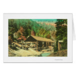 Exterior View of Saw Mill on Bodfish Creek Cards