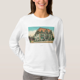 Exterior View of Spreckels Mansion, Van Ness T-Shirt