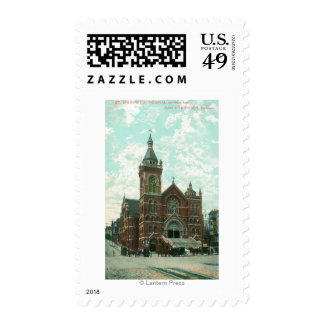 Exterior View of St. Mary's Cathedral Stamp