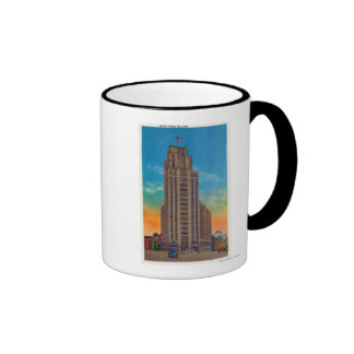 Exterior View of State Tower Building Coffee Mug
