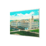 Exterior View of Sun-Maid Raisin Plant Gallery Wrapped Canvas