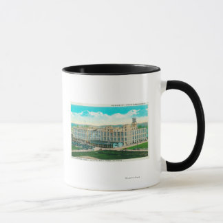 Exterior View of Sun-Maid Raisin Plant Mug