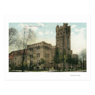 Exterior View of the 54th Regiment Armory Postcard