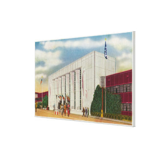 Exterior View of the Administration Bldg Canvas Print