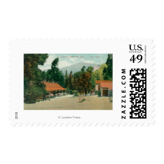Exterior View of the AnnexParaiso Springs, CA Postage Stamps