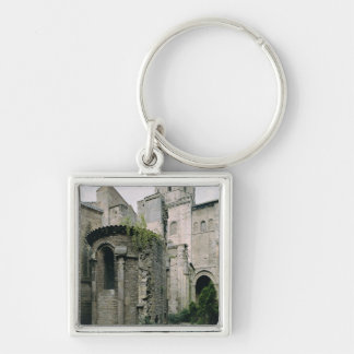 Exterior view of the apsidiole of the Abbey Keychain