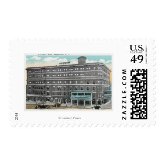 Exterior View of the Arlington Hotel Postage