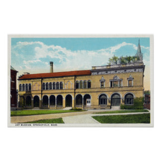 Exterior View of the Art Museum 2 Poster