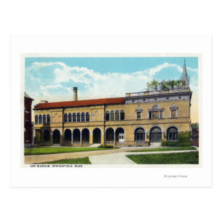 Exterior View of the Art Museum Postcard