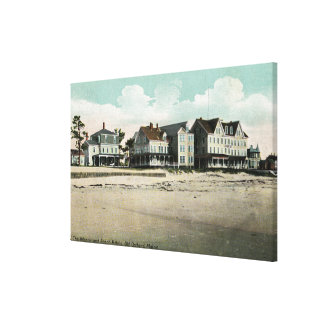 Exterior View of the Atlantic and Abbott Hotels Canvas Print