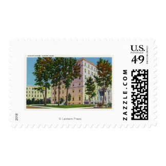 Exterior View of the Augusta House Stamp