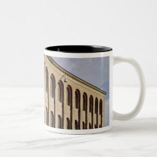 Exterior view of the Aula Palatina, built c.310 Two-Tone Coffee Mug