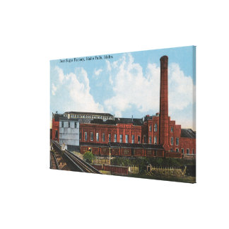 Exterior View of the Beet Sugar Factory Canvas Print