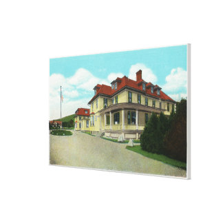 Exterior View of the Bretton Arms Stretched Canvas Prints