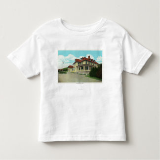 Exterior View of the Bretton Arms Tee Shirts