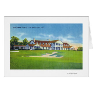Exterior View of the Brooklawn Country Club Card
