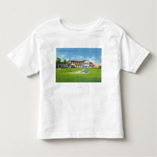 Exterior View of the Brooklawn Country Club T Shirt