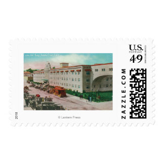 Exterior View of the Casa del Rey # 2 Postage Stamps
