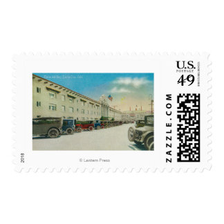 Exterior View of the Casa del Rey Stamps