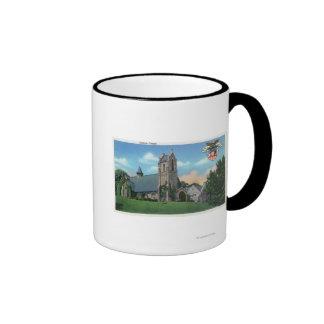 Exterior View of the Catholic Chapel Ringer Mug