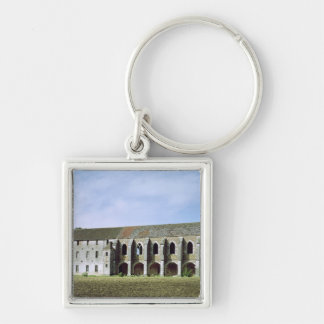 Exterior view of the Cistercian Abbey Keychain