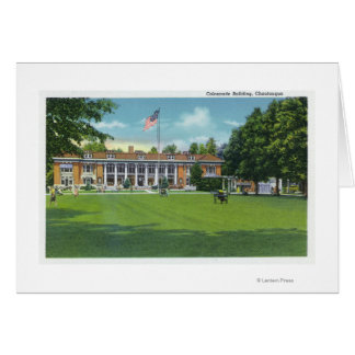 Exterior View of the Colonnade Building Card