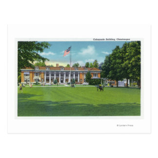 Exterior View of the Colonnade Building Postcard