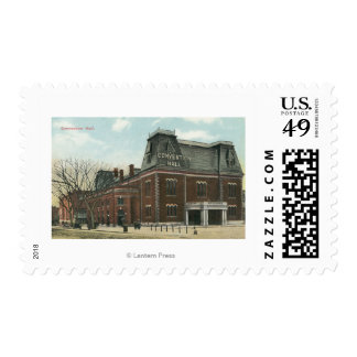 Exterior View of the Convention Hall Postage Stamp