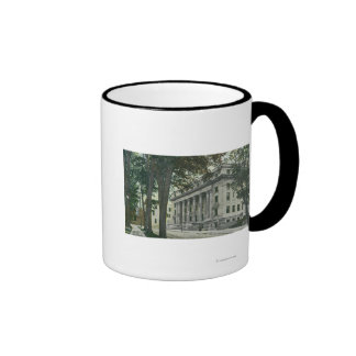 Exterior View of the County Court House Coffee Mugs