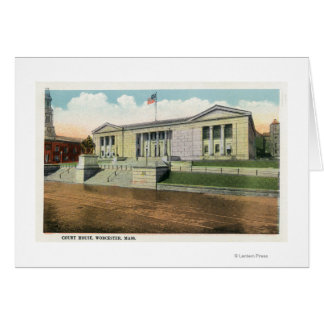 Exterior View of the Court House Card