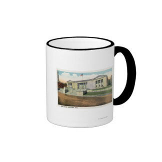 Exterior View of the Court House Coffee Mugs