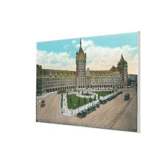 Exterior View of the D & H and Journal Canvas Print