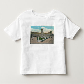Exterior View of the D & H and Journal Toddler T-shirt