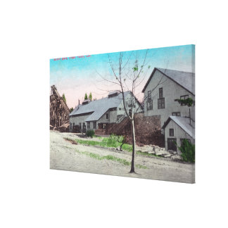 Exterior View of the Empire Mine Canvas Print