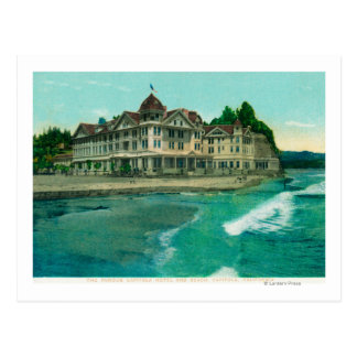 Exterior View of the Famous Capitola Hotel Postcards