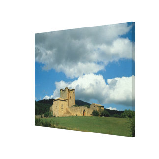 Exterior view of the fortress, built 1038-43 canvas print
