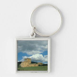 Exterior view of the fortress, built 1038-43 keychain
