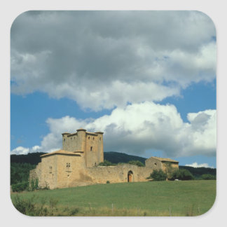 Exterior view of the fortress, built 1038-43 square sticker