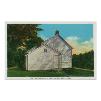 Exterior View of the Freeman House Print