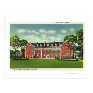 Exterior View of the Gideon Putnam Hotel Post Card