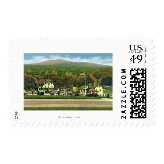 Exterior View of the Glen House Stamp