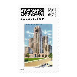 Exterior View of the Gov Smith Office Building Postage
