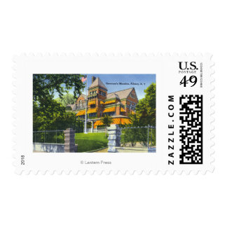 Exterior View of the Governor's Mansion Postage