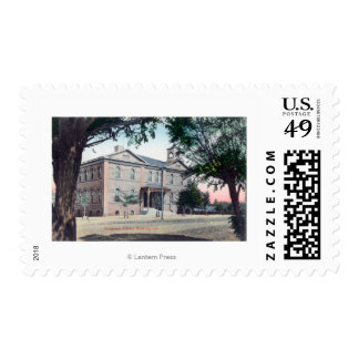 Exterior View of the Grammar SchoolRedding, CA Postage