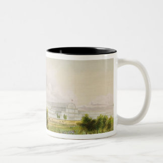 Exterior View of the Great Exhibition of all Natio Two-Tone Coffee Mug