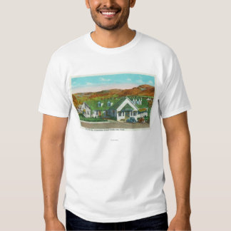 Exterior View of the Green Hut Caf� T-shirt