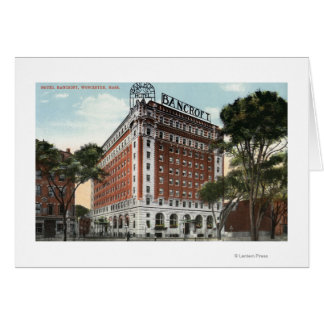 Exterior View of the Hotel Bancroft Card